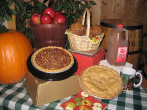 Holiday gift boxes by Pine Tree Apple Orchard