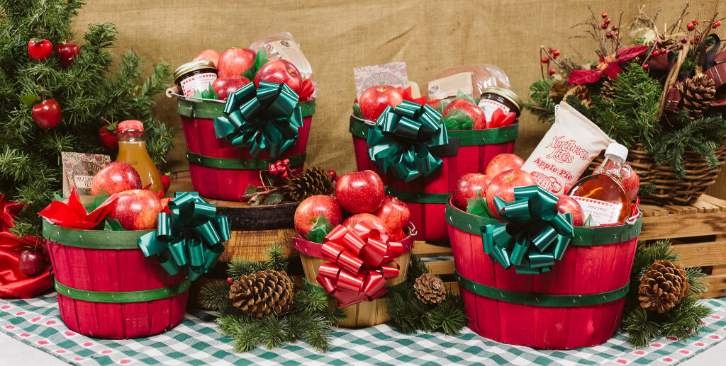 Gift Baskets Pine Tree Apple Orchard | Christmas Birthday Anniversary